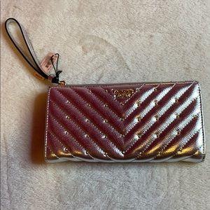 VS Silver Wrist wallet
